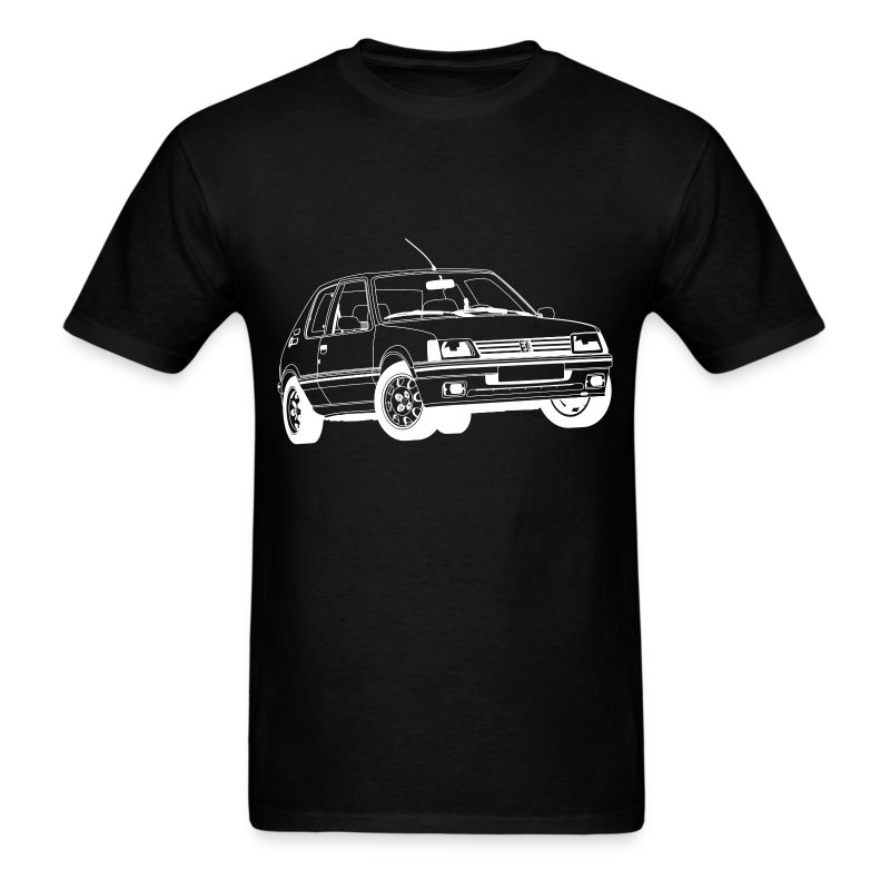 peugeot 205 gti t shirt spreadshirt. Black Bedroom Furniture Sets. Home Design Ideas