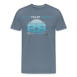 RichKidsTV Logo Limited Edition Replica Signature Series Premium Tee - Men's Premium T-Shirt