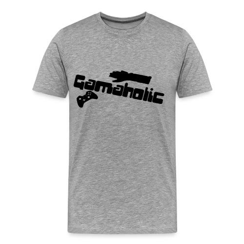 Gameaholic Shirt - Men's Premium T-Shirt