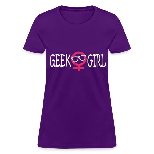 Geek Girl - Women's T-Shirt
