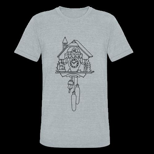 Kuckuck Clock - Unisex Tri-Blend T-Shirt