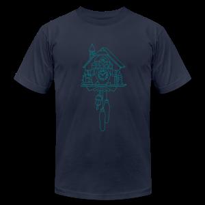 Kuckuck Clock - Men's Fine Jersey T-Shirt