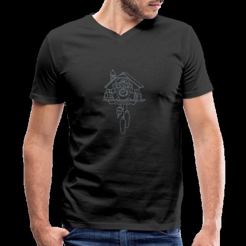 Kuckuck Clock - Men's V-Neck T-Shirt by Canvas