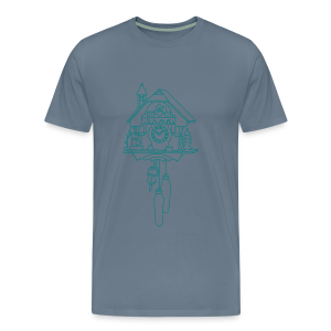 Kuckuck Clock - Men's Premium T-Shirt