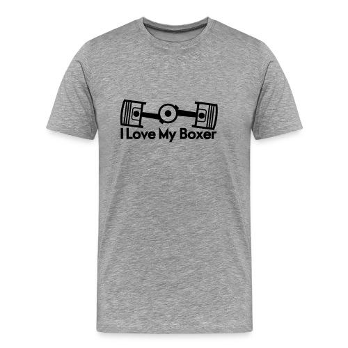 I Love My Boxer - Men's Premium T-Shirt