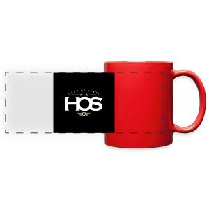 HeadOfState Red Coffee Mug  - Full Color Panoramic Mug