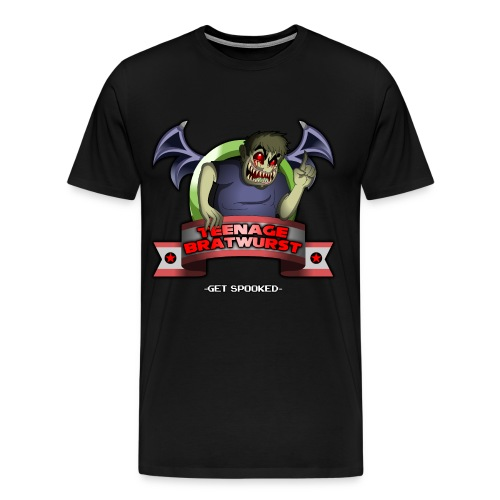 TeenageBratwurst Emblem (Mens) - Men's Premium T-Shirt