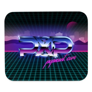 PopXcast Official Retro Mousepad - Mouse pad Horizontal
