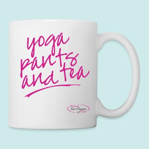 Yoga Pants and Tea Mug - Coffee/Tea Mug