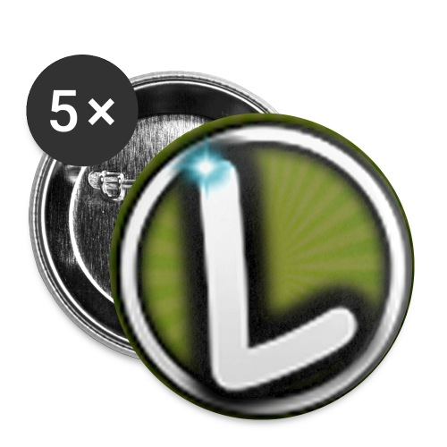 LMSB Buttons/Pins 5-Pack - Buttons small 1'' (5-pack)