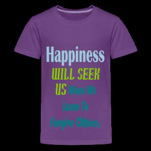 Happiness .... - Kids' Premium T-Shirt