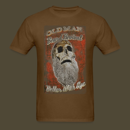 Old Man Beard Revival  - Men's T-Shirt