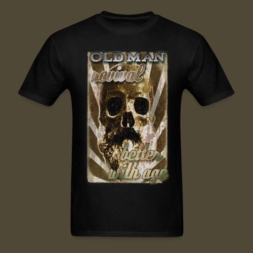 Old Man Revival  - Men's T-Shirt