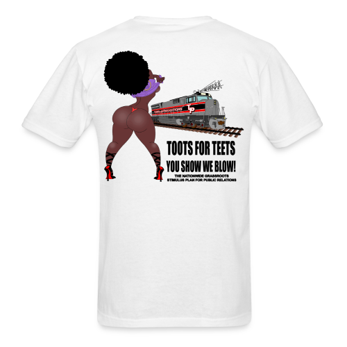 THICK SISTA TOOTS FOR TEETS - Men's T-Shirt