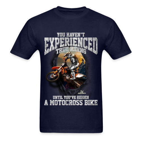 True Riding Motocross - Men's T-Shirt