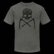T-Shirts ~ Men's T-Shirt by American Apparel ~ Skull T-Shirt
