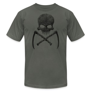 Skull T-Shirt - Men's T-Shirt by American Apparel