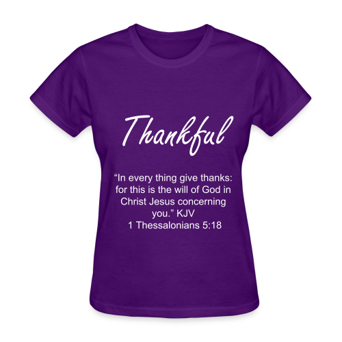 Women's Thankful T-Shirt - Women's T-Shirt