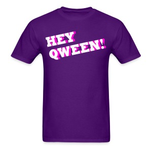 Hey Qween! Mothership Logo Tee - Men's T-Shirt