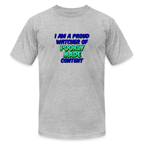 Poorly Made Content - Men's Premium T-shirt  - Men's Fine Jersey T-Shirt
