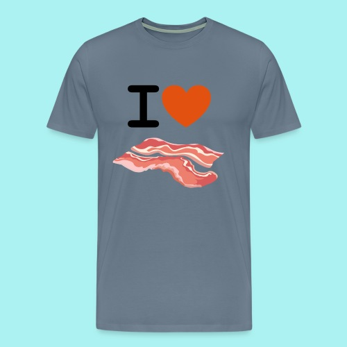 I Love Bacon - Men's Premium T-Shirt