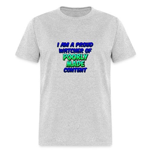 Poorly Made Content - Men's T-shirt - Men's T-Shirt