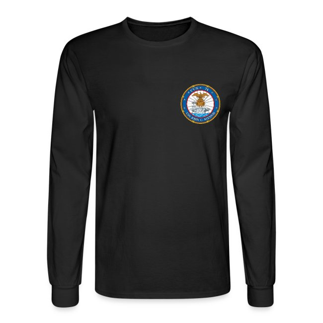 USS JOHN C STENNIS 2007 CRUISE SHIRT - LONG SLEEVE