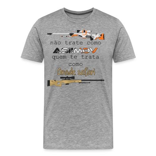Não trate como asiimov... - Men's Premium T-Shirt