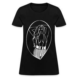 White vector beauty - Women's T-Shirt