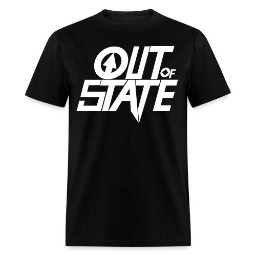 Out Of State Logo T-Shirt Mens Black - Men's T-Shirt