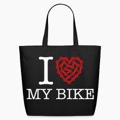 I Love My Bike Bags & backpacks