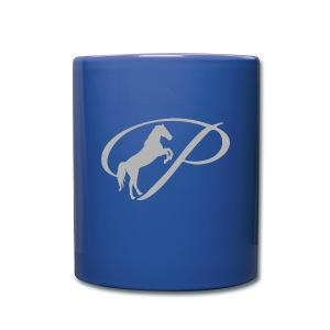 Mug with light grey logo - Full Color Mug
