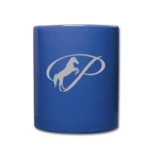 Mug with light grey logo - Full Color Mug