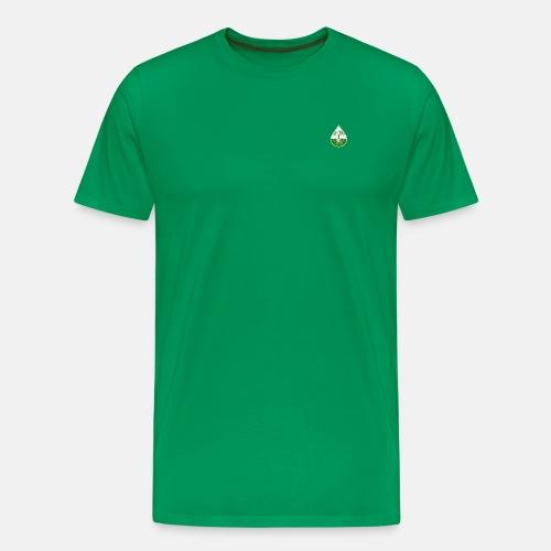 Elite design with light green logo shirt - Men's Premium T-Shirt