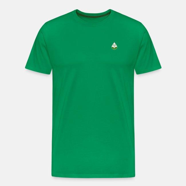 Elite design with light green logo shirt