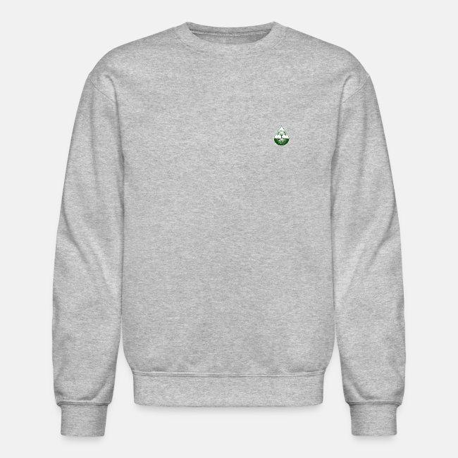 Green small logo elite pullover