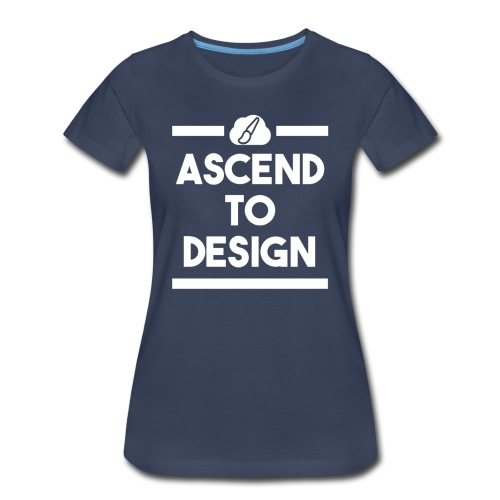 AscendToDesign Official T-Shirt - Womens - Women's Premium T-Shirt