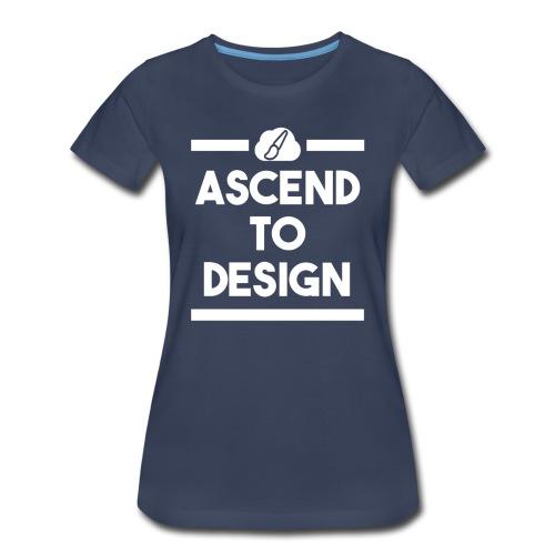 AscendToDesign Official T-Shirt - Womens - Women's Premium T-Shirt