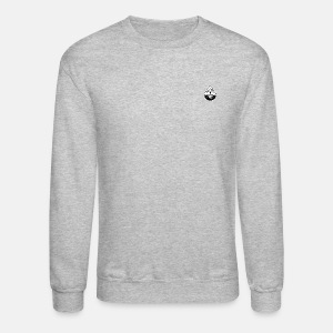 Black small logo elite pullover - Crewneck Sweatshirt