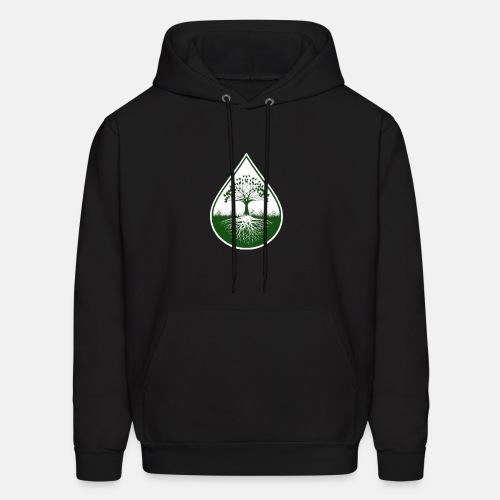 Green logo hoodie - Men's Hoodie