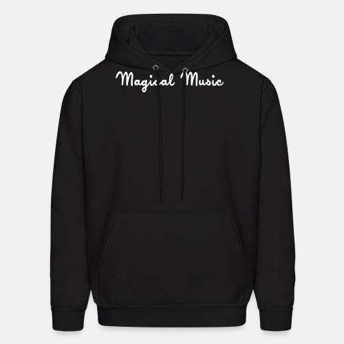 White text hoodie - Men's Hoodie