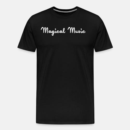 White text shirt - Men's Premium T-Shirt
