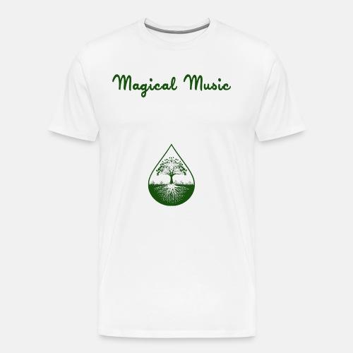 Green text and logo shirt - Men's Premium T-Shirt