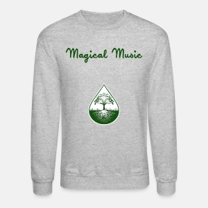 Green logo and text pullover - Crewneck Sweatshirt