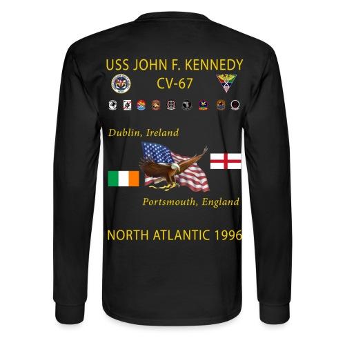 USS JOHN F KENNEDY CV-67 1996 CRUISE SHIRT - LONG SLEEVE - Men's Long Sleeve T-Shirt