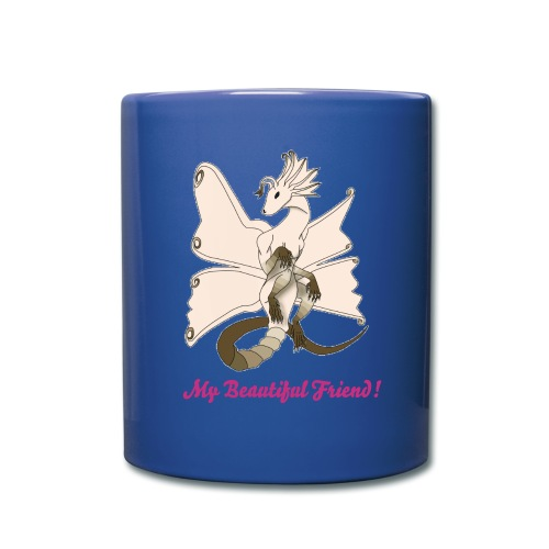 Butterfly Dragon Blue Mug - Full Color Mug