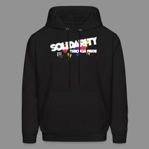 2016 Theme Solidarity Through Pride Hoodie - Men's Hoodie