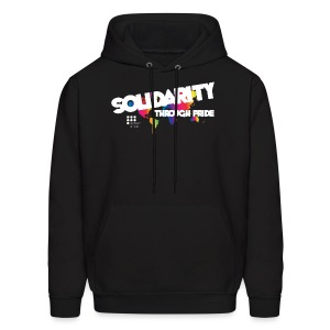 "2016 Theme ""Solidarity Through Pride"" Hoodie - Men's Hoodie"