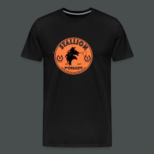 stallion pomade - Men's Premium T-Shirt
