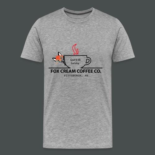 Fox Cream Coffee Company - Men's Premium T-Shirt
